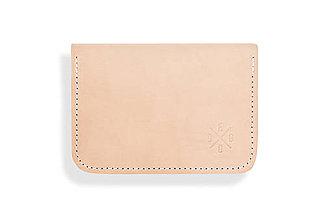 Peňaženky - Peňaženka Perry - prírodná (nefarbená) - 8423219_