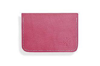 Peňaženky - Peňaženka Perry - ružová - 8423238_