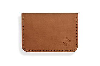 Peňaženky - Peňaženka Perry - svetlo hnedá - 8423243_