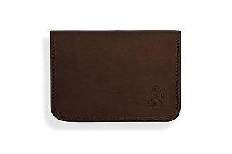 Peňaženky - Peňaženka Perry - tmavo hnedá - 8423252_