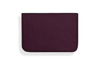 Peňaženky - Peňaženka Perry - tmavo fialová - 8423257_