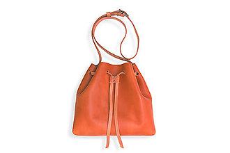 Veľké tašky - Eggo kabelka Hertz - oranžová - 8424981_