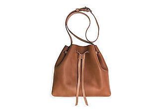 Veľké tašky - Eggo kabelka Hertz - svetlo hnedá - 8424997_