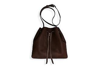 Veľké tašky - Eggo kabelka Hertz - tmavo hnedá - 8425007_