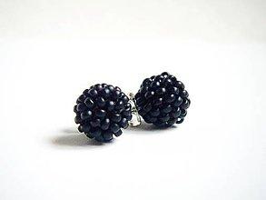 Darčeky pre svadobčanov - 5ks EARBERRIES Black - 8425260_