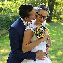 Kytice pre nevestu - Letná svadobná kytica - 8425079_