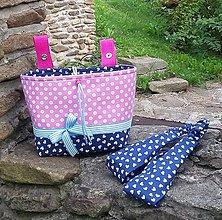 Detské tašky - Košík / taška na bicykel - 8427845_