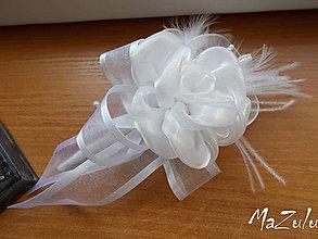 Pierka - svadobné pierko pre ženícha - 8426681_
