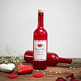 Nádoby - Fľaša na svadobné víno_04 - 8426135_