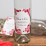 Nádoby - Fľaša na svadobné víno_05 - 8426146_