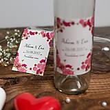Nádoby - Fľaša na svadobné víno_05 - 8426147_