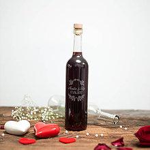 Nádoby - Fľaša na svadobné víno_03 - 8426114_