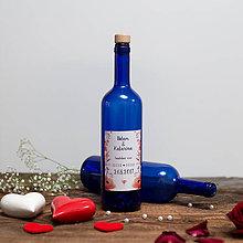 Nádoby - Fľaša na svadobné víno_06 - 8426149_