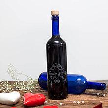 Nádoby - Fľaša na svadobné víno_07 - 8426157_