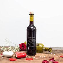 Nádoby - Fľaša na svadobné víno_08 - 8426163_