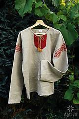 - Mužská ľanová košeľa Ľubomír II. - 8427951_