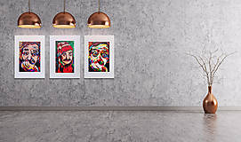 Grafika - Print A3 na papieri A2 z originál obrazu Jaro Filip - 8426949_