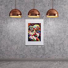 Grafika - Print A3 na papieri A2 (v ráme) z originál obrazu  Jaro Filip - 8426973_