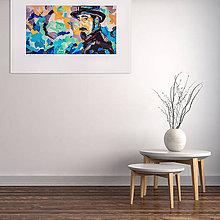 Grafika - Print A3 na papieri A2 (v ráme) z originál obrazu  Serj Tankian - 8426979_