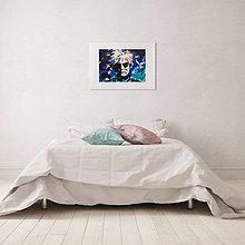 Grafika - Print A3 na papieri A2 (v ráme) z originál obrazu  Andy Warhol - 8426987_