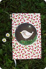 - Zápisník s vtáčikom - 8427111_