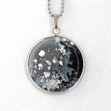 Náhrdelníky - Saturn - autorský náhrdelník malý - 8427797_