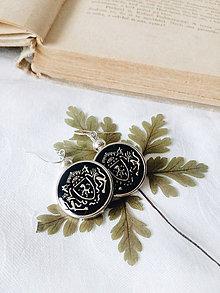 Náušnice - Zo šperkovnice starej mamy - 8428174_