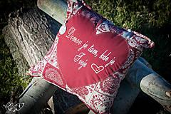 Úžitkový textil - Vankúšik