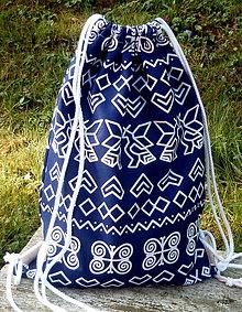 Batohy - vrecko na chrbát - čičmany - 8430161_