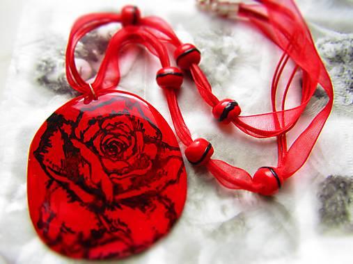 eec2a3efa Náhrdelník ruža / Atelier-Muza - SAShE.sk - Handmade Náhrdelníky