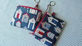 Taštičky - Summer Houses ... kľúčenka - 8432586_