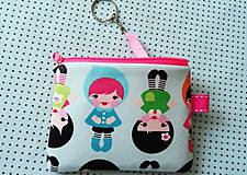 Taštičky - Baby Dolls... kľúčenka - 8432670_