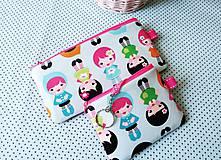 Taštičky - Baby Dolls... kľúčenka - 8432676_
