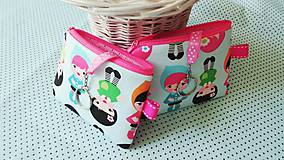 Taštičky - Baby Dolls... kľúčenka - 8432677_