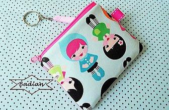 Taštičky - Baby Dolls... kľúčenka - 8432665_