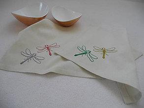 Úžitkový textil - Nad rybníkom (prestieranie) - 8432109_