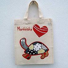 Detské tašky - Dětská taštička Želvička - 8432286_