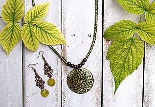Sady šperkov - Orientálna Sada Lime - 8431557_