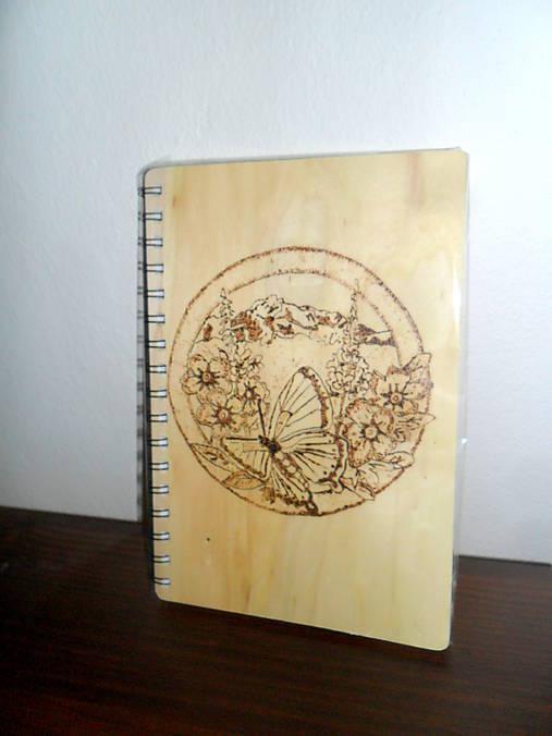 Zošit - vypaľovanie   Cilekova - SAShE.sk - Handmade Papiernictvo 4ea0a88336