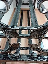 Nábytok - Kovaný botník, Regál na topánky - 8433005_