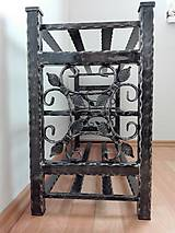 Nábytok - Kovaný botník, Regál na topánky - 8433008_