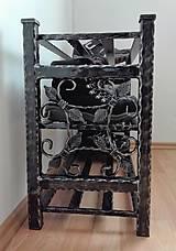 Nábytok - Kovaný botník, Regál na topánky - 8433011_