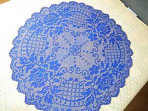 Úžitkový textil - Háčkovaný obrus ROSE 4 - 8430964_