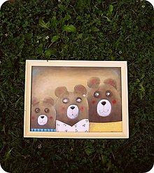 Detské doplnky - Tri medvede.. - 8431619_