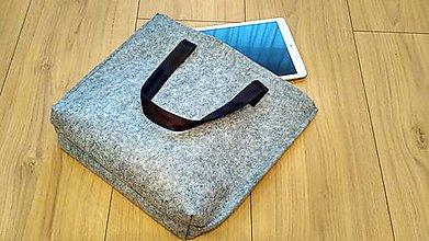Kabelky - Športová filcová taška - 8431050_