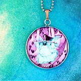 Náhrdelníky - Malá víla - dievčenský náhrdelník malý - 8433200_