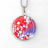 Náhrdelníky - Merkúr - autorský náhrdelník malý - 8433260_