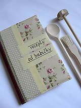 Papiernictvo - Receptár A5 - recepty od babičky - 8432155_