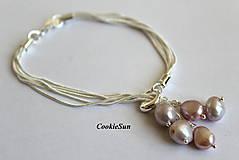 """Náramky - Náramok """"River Pearls Rosaline"""" - 8433502_"""