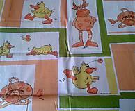 Textil - Látky s detským vzorom - 8433075_